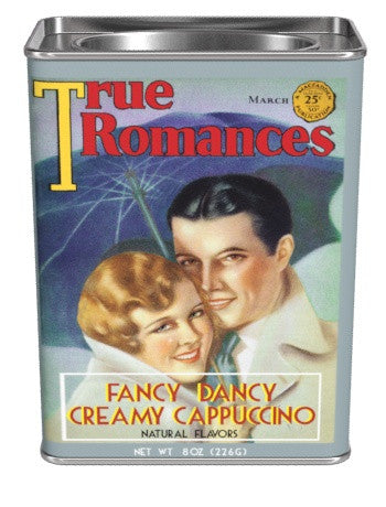 True Romance Fancy Dancy Creamy Cappuccino Mix (8oz Rectangle Tin)