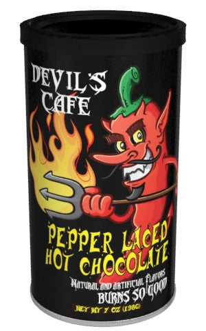 McSteven's Devil's Café Pepper Laced Habanero and Chocolate - 7 oz (CLOSEOUT - BEST BY JAN 2021)