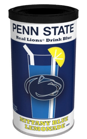 College Colors Lemonade 8 oz. round - Penn State Colorful Blue Lemonade