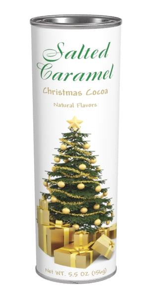 Christmas Tree Salted Caramel Cocoa (5.5oz Oval Tin)