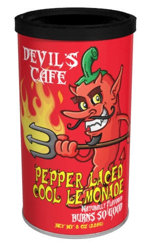 Round Canister DC Lemonade - McSteven's Devil's Café Pepper Laced - 7 oz (CLOSEOUT - BEST BY JAN 2021)
