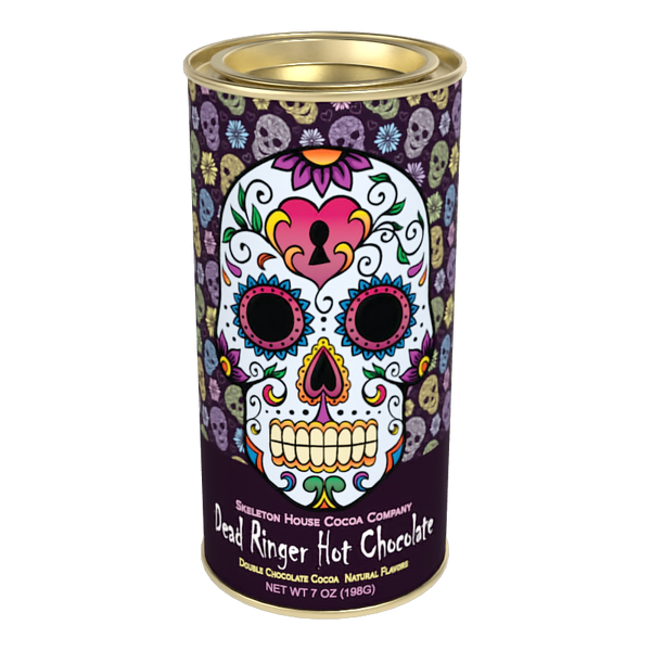 "McSteven's Day of The Dead ""Dead Ringer"" Chocolate Cocoa (7oz Round Tin)"