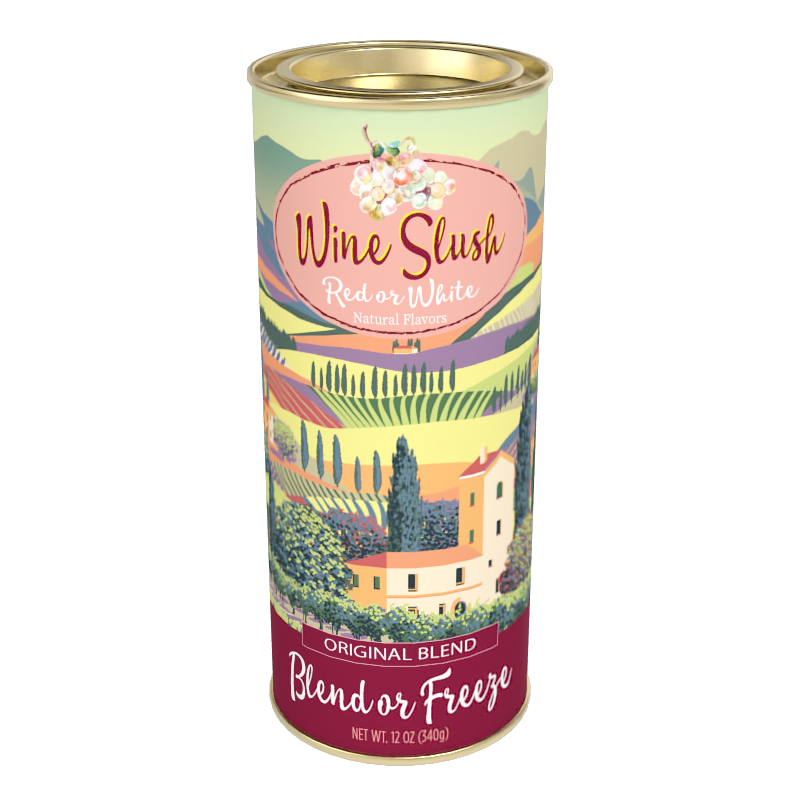McSteven's Red or White Wine Slush - Original Blend (12oz Round Tin)