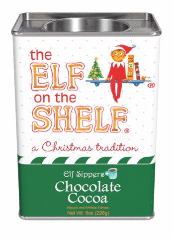 The Elf On The Shelf® Elf Sippers Cocoa 8 oz rectangle - Chocolate (CLOSEOUT - BEST BY JULY 2021)