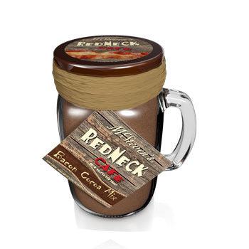 Glass Jar Drink Cocoa - McSteven's® Redneck Café Bacon - 10 oz