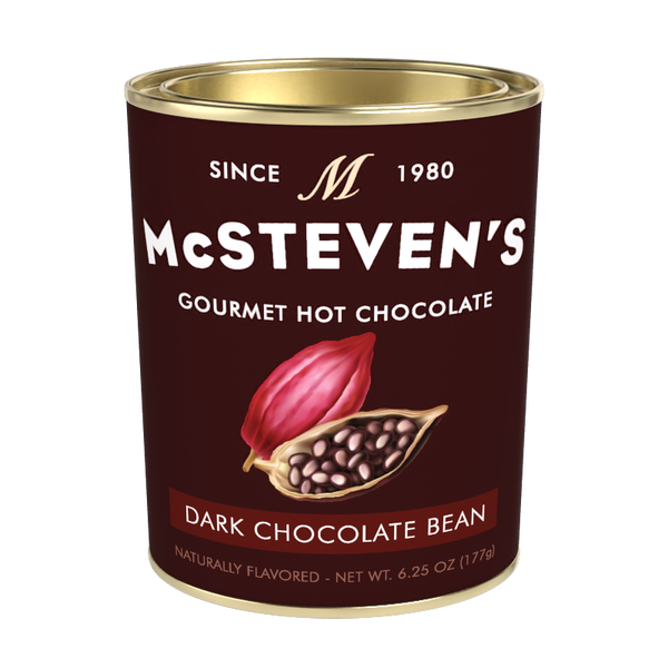 McSteven's Modern Classics Dark Chocolate Bean Hot Cocoa (6.25oz Oval Tin)