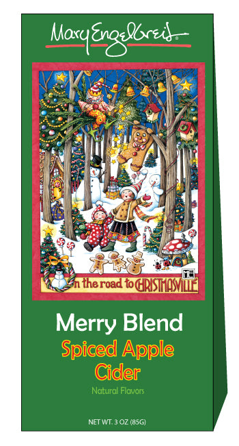 Mary Engelbreit® Merry Blend Spiced Apple Cider Mix (3oz Tent Box)