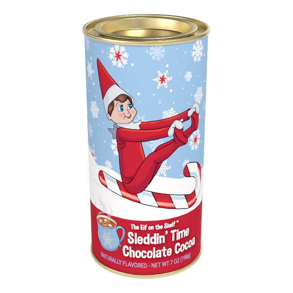 Elf on the Shelf® Sleddin' Time Chocolate Cocoa (7 oz Round Tin)