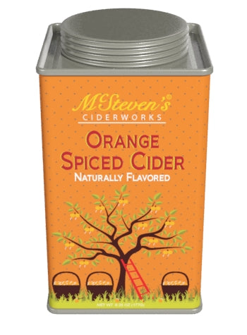 Square Tin Drink Cider - McStevens® Ciderworks Orange Spiced - 6.25 oz (CLOSEOUT - BEST BY FEB 2021)