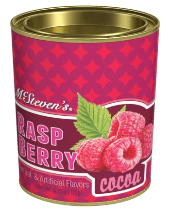 Oval Tin Drink Cocoa - McSteven's® Ultra Raspberry Cocoa - 6.25 oz