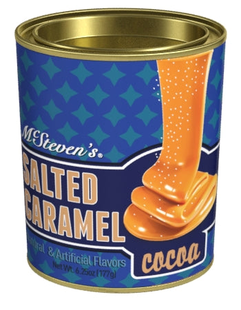 Oval Tin Drink Cocoa - McStevens® Ultra Salted Caramel - 6.25 oz