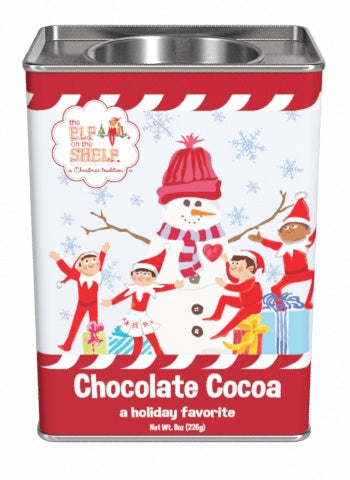 Elf On The Shelf® Chocolate Cocoa (8oz Rectangle Tin)