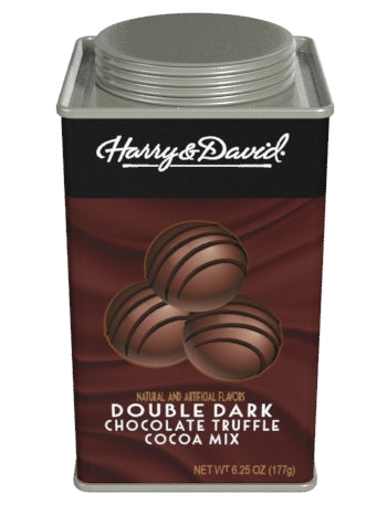 Harry & David® Truffle Cocoa - Double Dark Chocolate (6.25oz Square Tin)