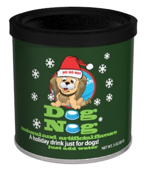Short Round Canister Drink Mix - Holiday Dog Nog - 3 oz