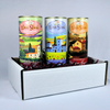Wine Slush Gift Box - Original, Peach Mango, and Berry Pomegranate (Three 12oz Tins)