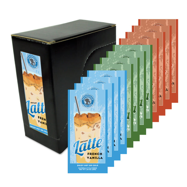 Coffeehouse Coolers Variety Box (Twelve 1.25oz Packets)