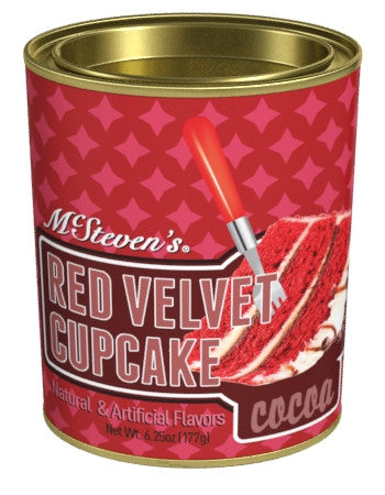 Oval Tin Drink Cocoa - McStevens® Ultra Red Velvet Cupcake - 6.25 oz