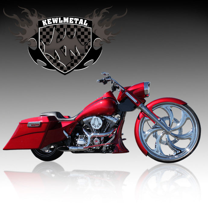 KewlMetal 40 Degree Rake Kit, Harley Davidson 2014 and Newer
