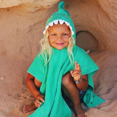 Kids Hooded Beach Towel | Croc
