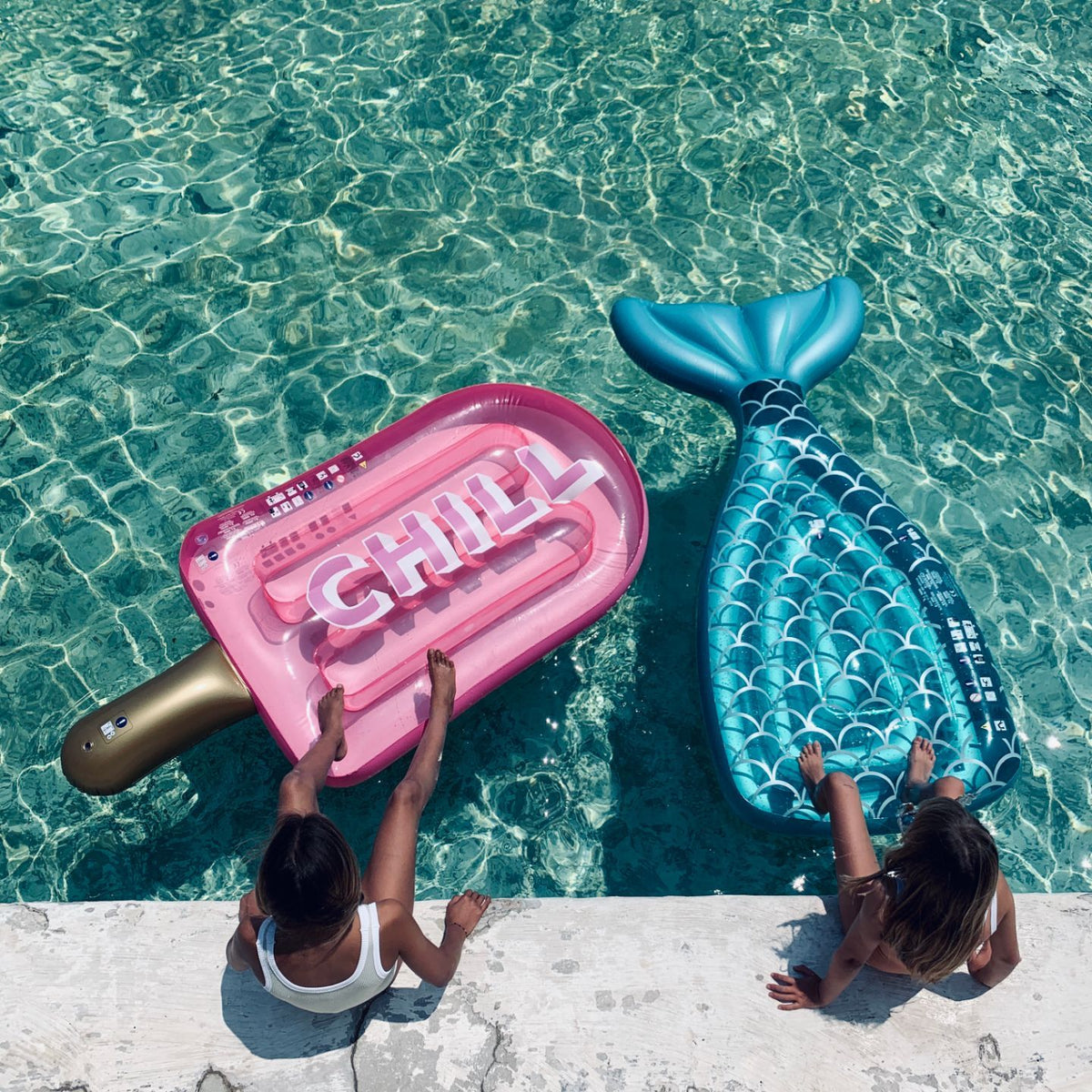 Luxe Lie-On Float | Chill Ice Lolly
