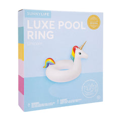 Sunnylife | Luxe Pool Ring | Unicorn