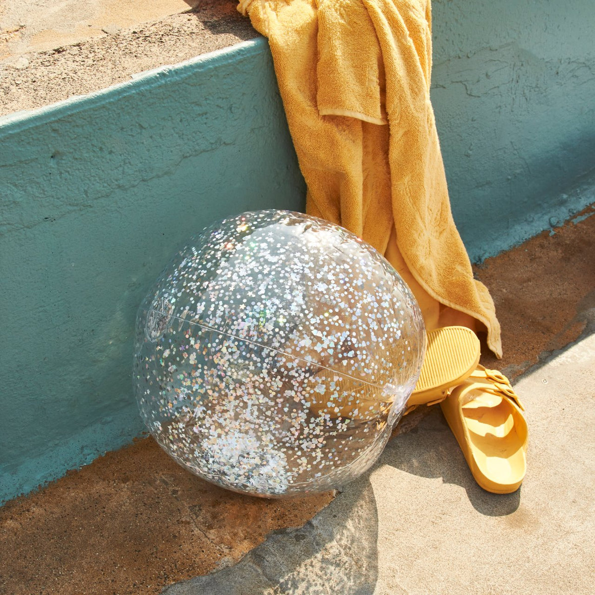 Inflatable Beach Ball | Glitter