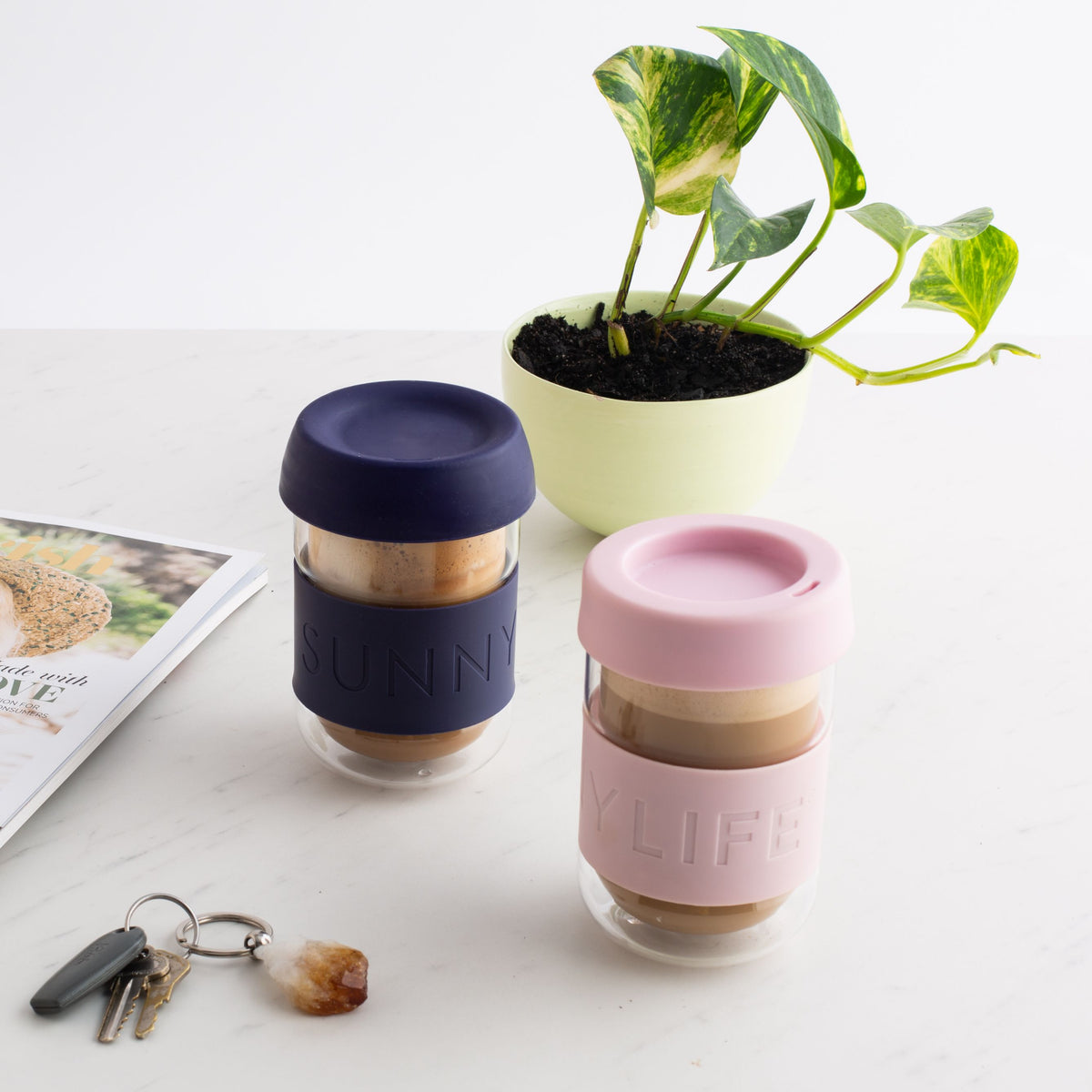 Eco Coffee Cup | Pink