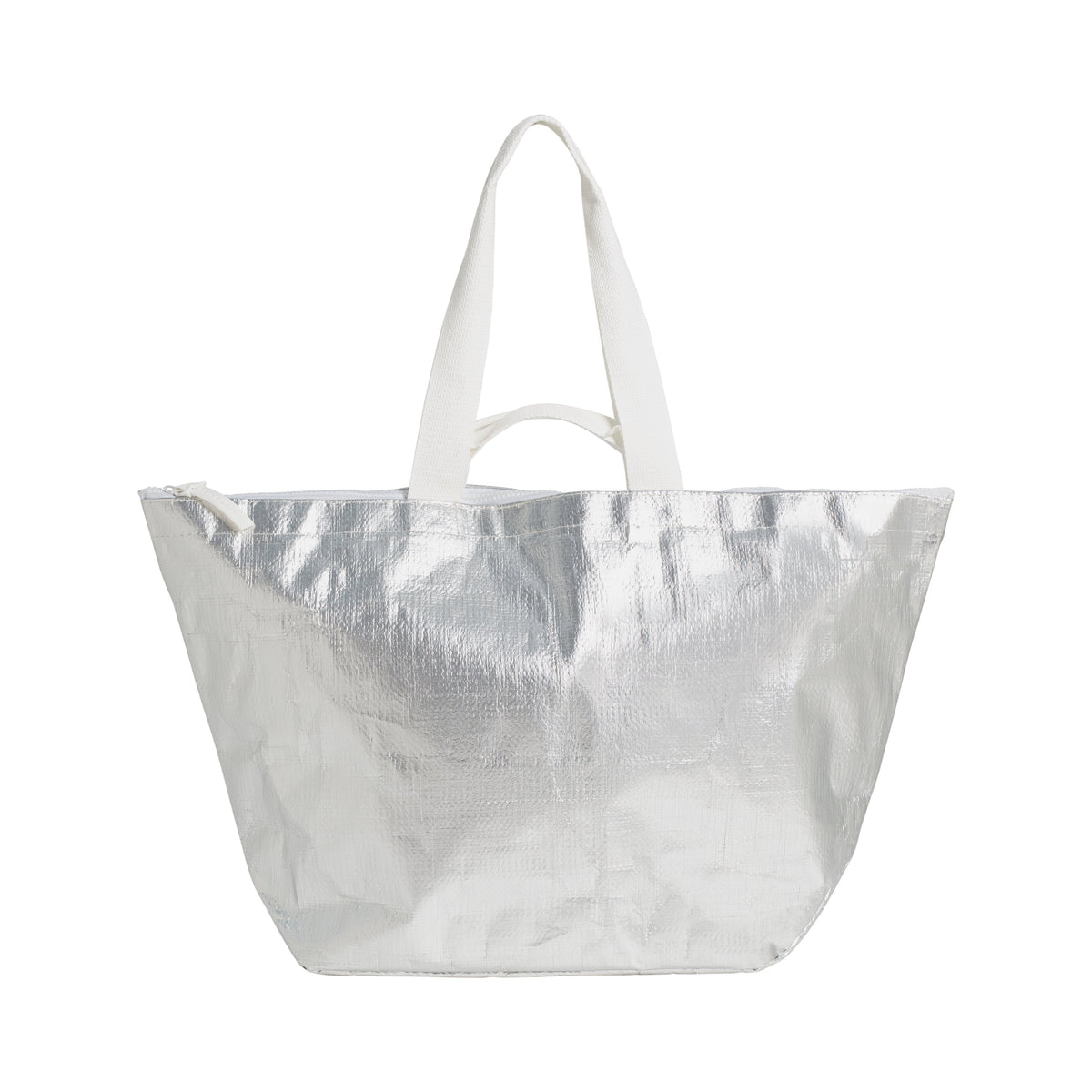 Sunnylife | Light Carry Me Tote | Metallic - Silver