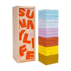 Travel Jumbling Tower | Rainbow