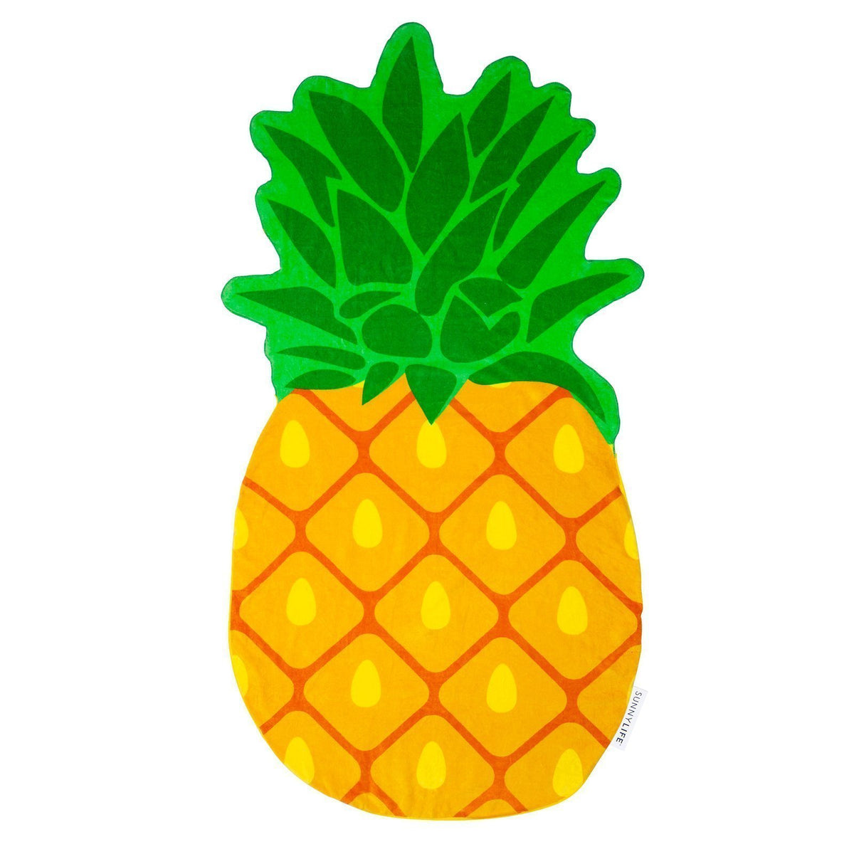 Sunnylife | Shaped Towel | Pineapple