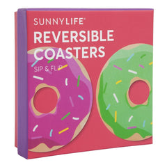 Sunnylife | Reversible Coasters | Donut