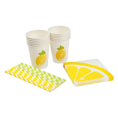Sunnylife | Drink Dispenser Party Kit | Lemon