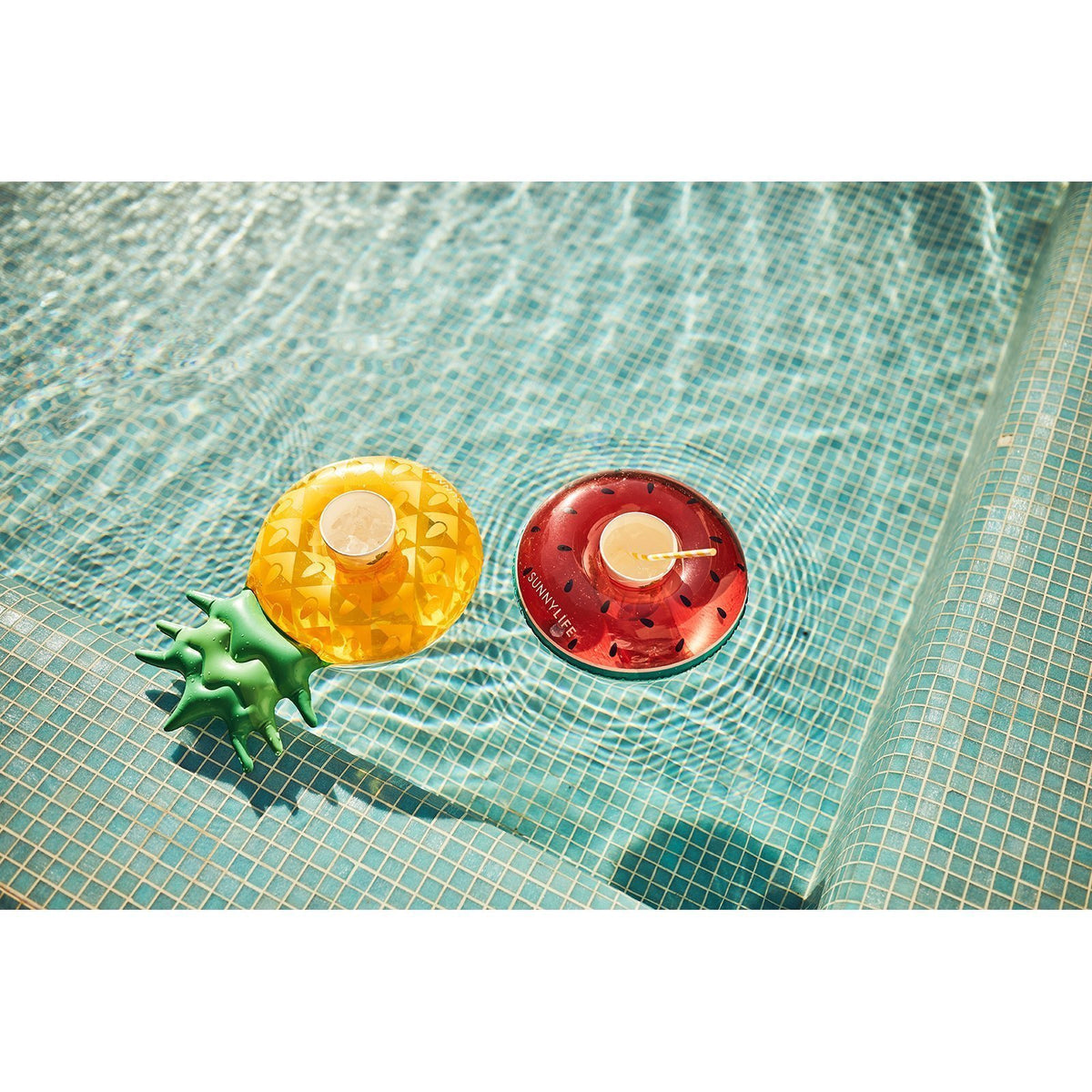 Sunnylife | Inflatable Drink Holders | Fruit Salad