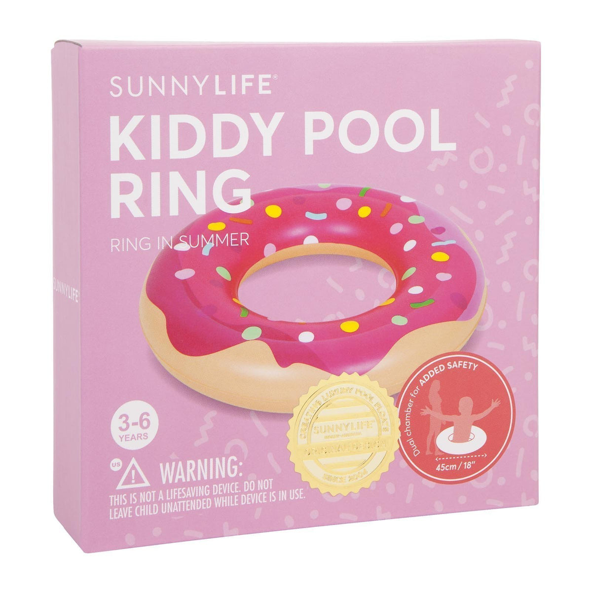 Sunnylife | Kiddy Pool Ring | Donut | Sunnykids
