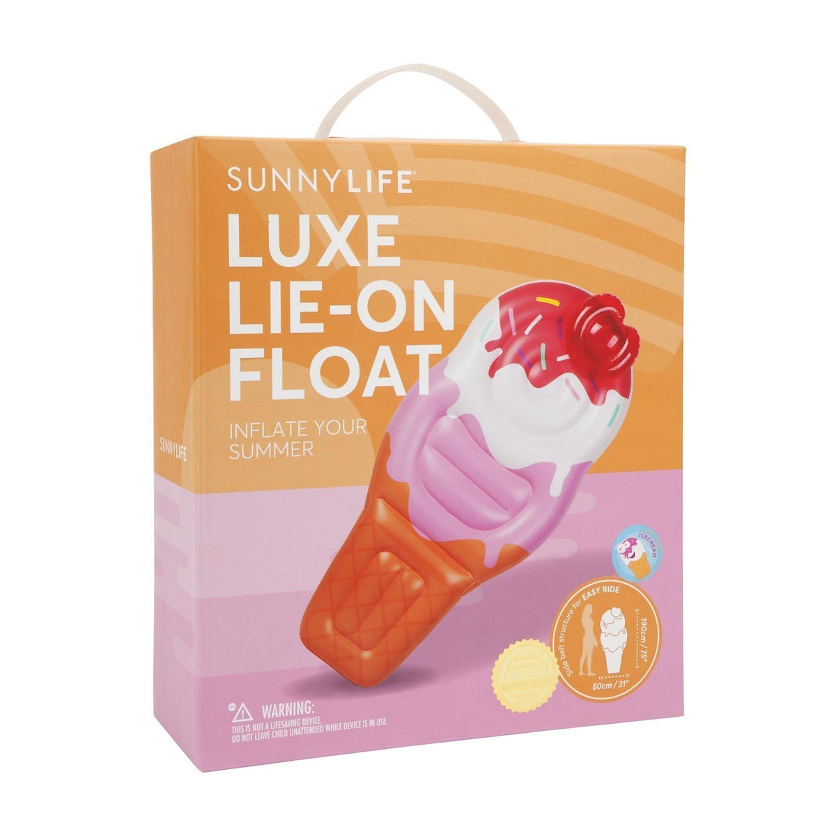 Sunnylife | Luxe Lie-On Float | Ice Cream
