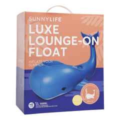 Sunnylife | Luxe Lounge-On Float | Moby Dick