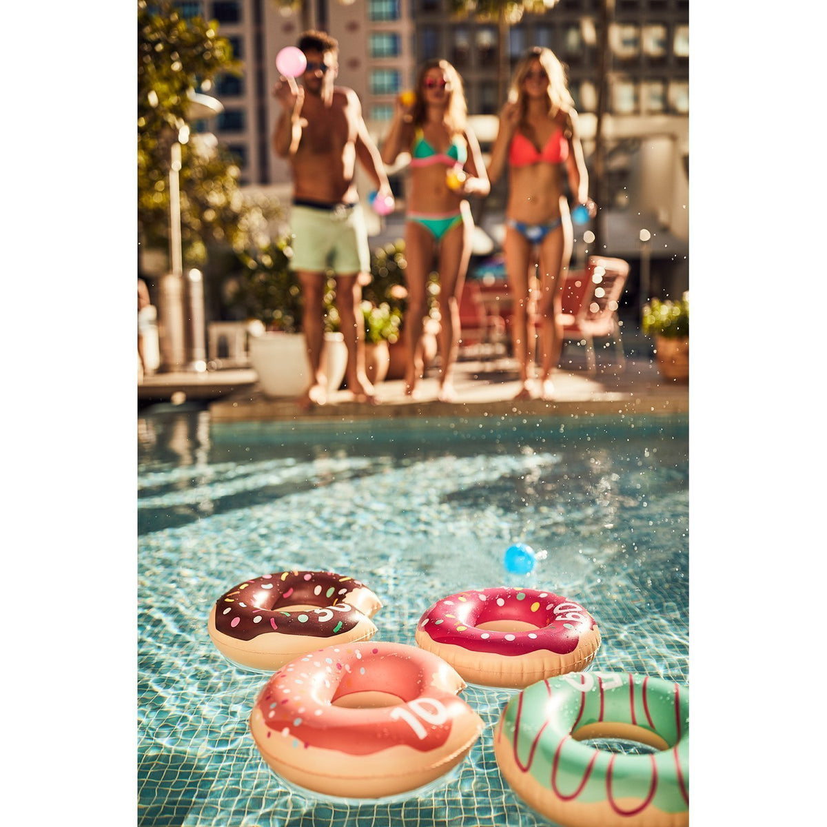 Sunnylife | Inflatable Floating Game | Donut
