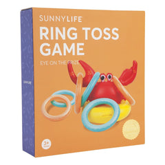 Sunnylife | Inflatable Ring Toss Game | Crabby