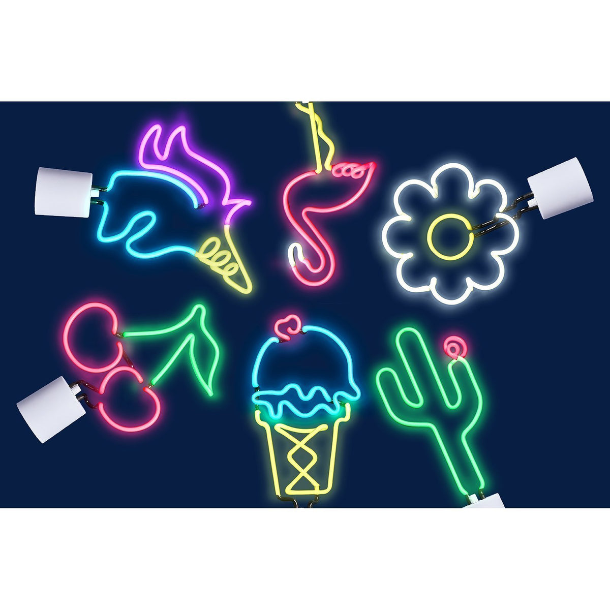 Sunnylife Ice Cream Neon Light Large UK