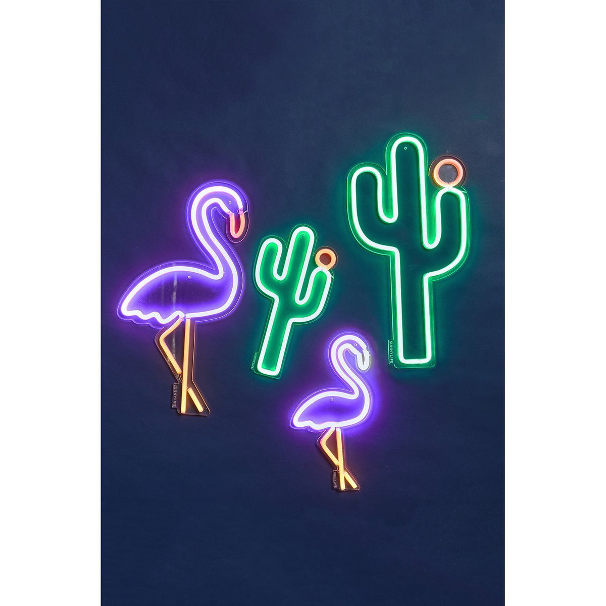 Sunnylife Cactus Neon Wall Light Small UK