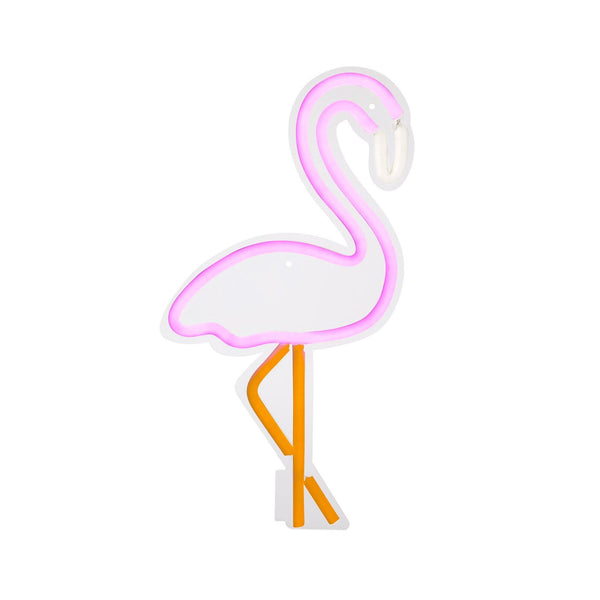 Sunnylife | Neon LED Wall Light Small | Flamingo