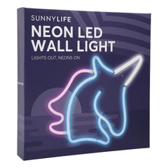 Sunnylife | Neon LED Wall Light Small | Unicorn