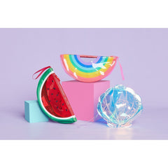 Sunnylife | See Thru Clutch | Rainbow