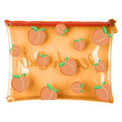 Sunnylife | See Thru Pouch | Peach