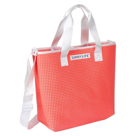 Refresh Tote Bag | Neon Coral