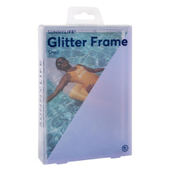 Sunnylife | Glitter Picture Frame Rectangle | Shell