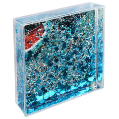 Sunnylife | Glitter Picture Frame Square | Shell