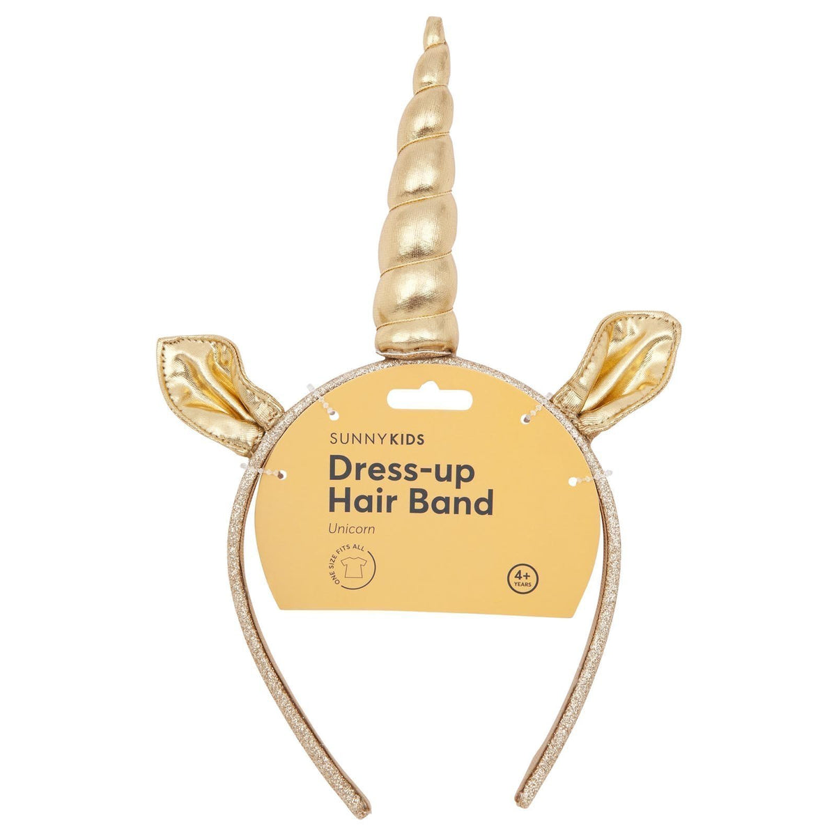 Sunnylife | Dress-up Unicorn Hair Band | Gold | Sunnykids