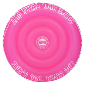 Twin Round Float | Neon Pink