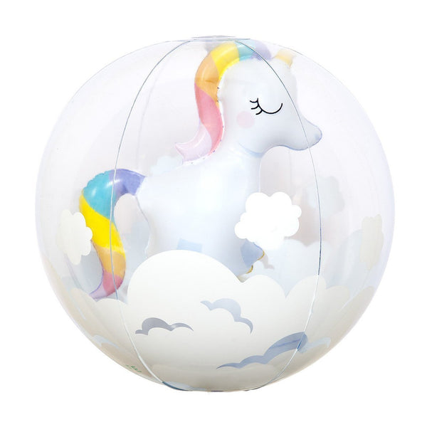 Sunnylife | Inflatable Beach Ball | 3D Unicorn
